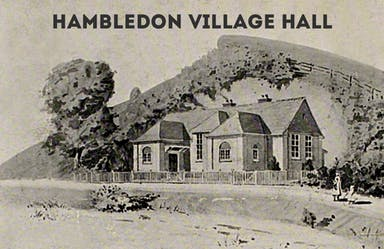 Hambledon Village Hall original drawing.jpg