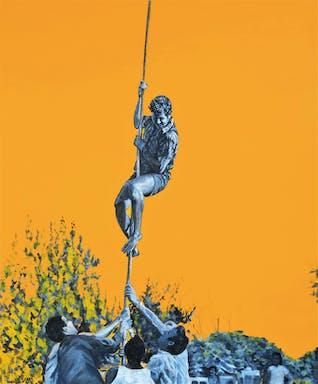 יואב מטפס, טכניקה מעורבת (אקריליק ושמן על בד), 100-120 סמ 2020.jpg
