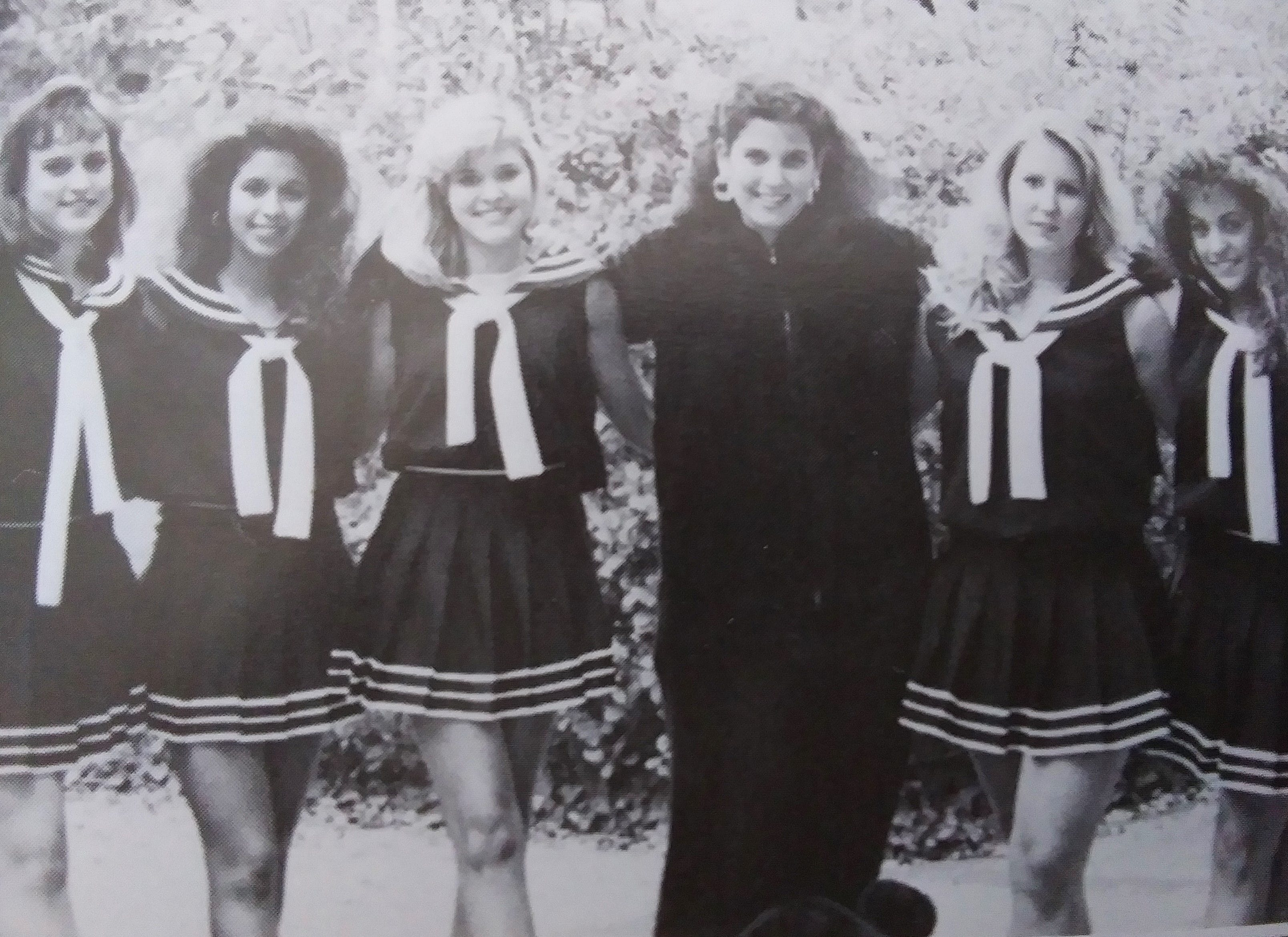 Mary Veal '89 cheer squad.jpg